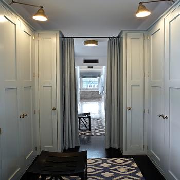 Gray Closet Cabinets Design Ideas