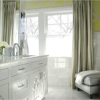 Bathroom Yellow And Gray yellow and gray wallpaper design ideas