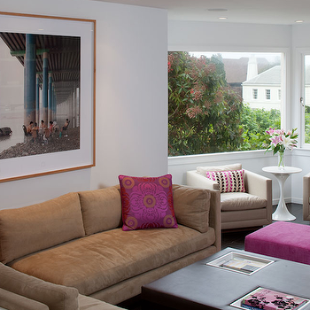 Brown Sectional Sofa, Contemporary, living room, Artistic Designs for Living