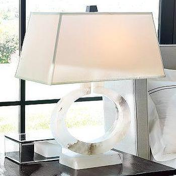 Williams-Sonoma Home, Madison Lamp, Alabaster