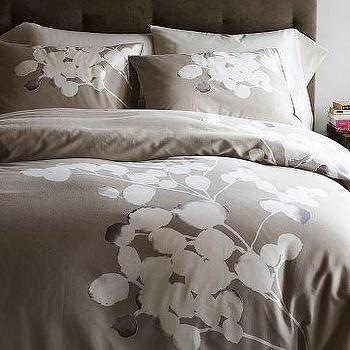 Solarized Duvet Cover + Shams, west elm