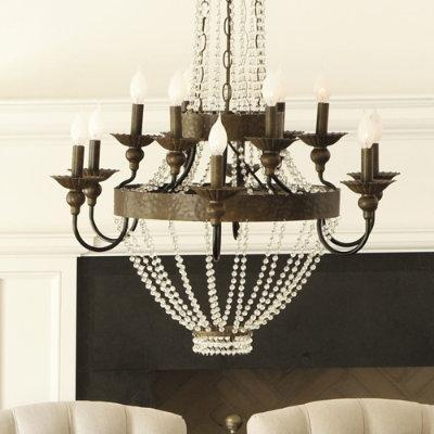 12 Light Chandelier Antique Bronze Chandelier – Chandelier Bronze