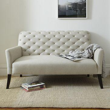 Camille Tufted Settee Ottomans Amp Benches Restoration