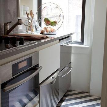 Stacked Dishwashers