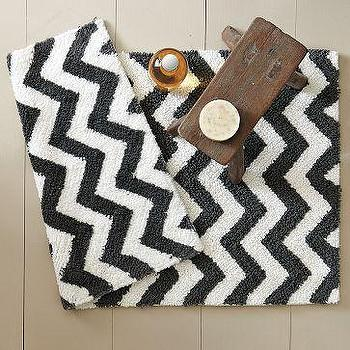 Tribal Bath Mat, west elm