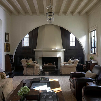 Living Room Alcove, Transitional, living room, Tracery Interiors