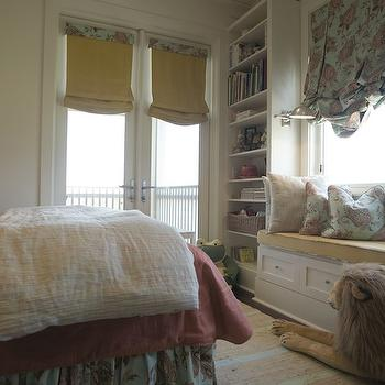 Kids Window Seat, Traditional, girl's room, Tracery Interiors