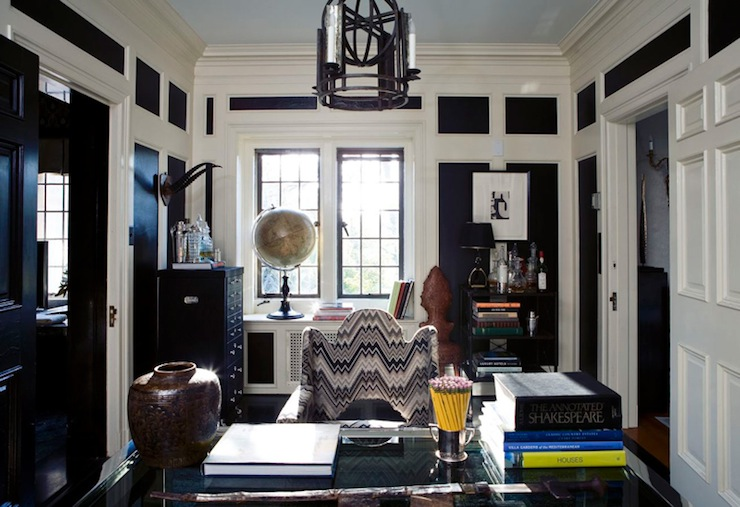 Blue ceiling design ideas - Best paint for office walls ...