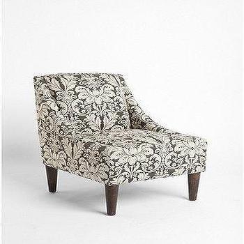 UrbanOutfitters.com > Chocolate Damask Flourish Chair