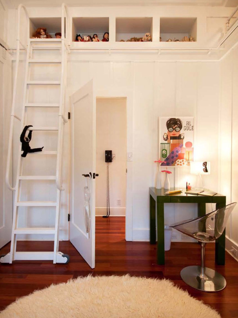 Mini Parsons Desk Contemporary Girl S Room Philpotts Interiors
