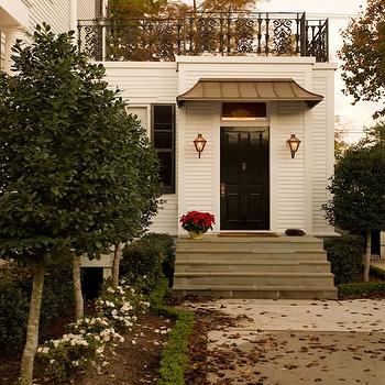 Black Front Door, Cottage, home exterior, Studio BFG