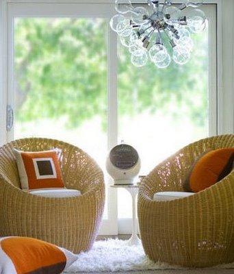 Modern Rattn Chairs view full sizeNatural Tan Wicker Chair. Modern Wicker Chair. Home Design Ideas