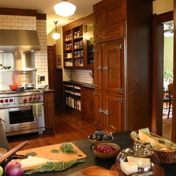 Ice Box Refrigerator Transitional Kitchen Kitchen Lab