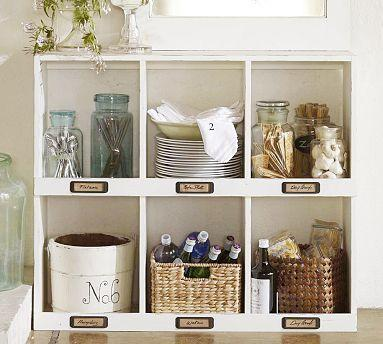 Mitchell Cubby Organizers Pottery Barn