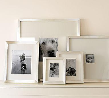 Pottery Barn Lee Gallery Silver Frames