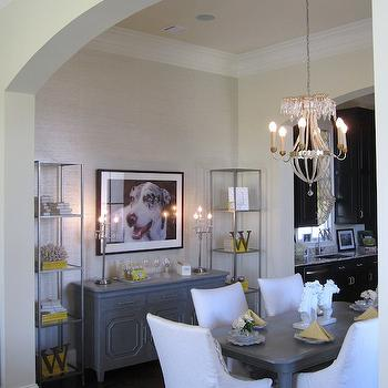 Dining Room Etagere Design Ideas