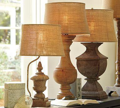 Architectural Salvage Lamp Bases Pottery Barn