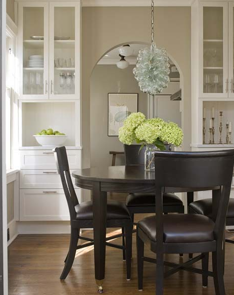 Mismatched Dining Chairs Contemporary Dining Room