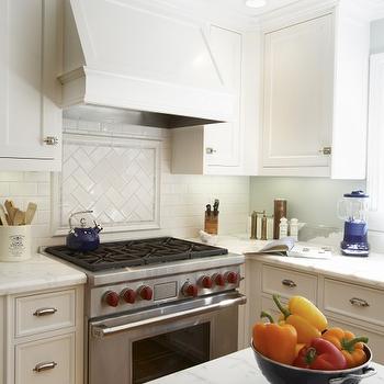 subway herringbone cooktop backsplash design ideas