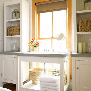 White Washstand Design Ideas