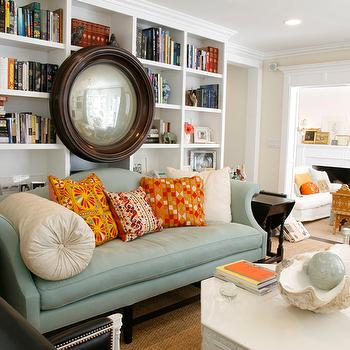Built In Bookcases, Contemporary, den/library/office, Windsor Smith Home