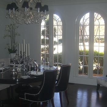 Nailhead Trim Dining Chairs - Contemporary - dining room - Kelly ...