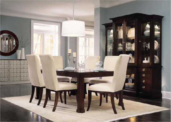 Dining room for Light blue dining room