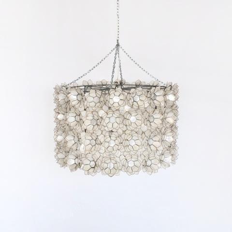 away peony capiz shell chandelier modern li – Capiz Shell Chandelier Lighting