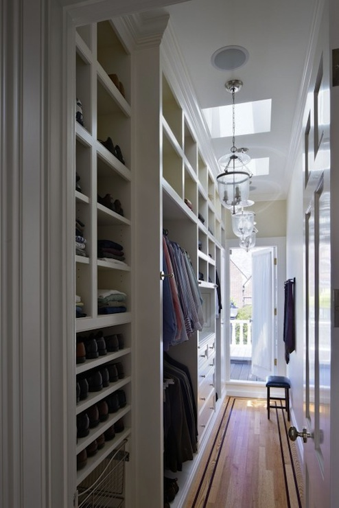 Narrow Closet Design Ideas