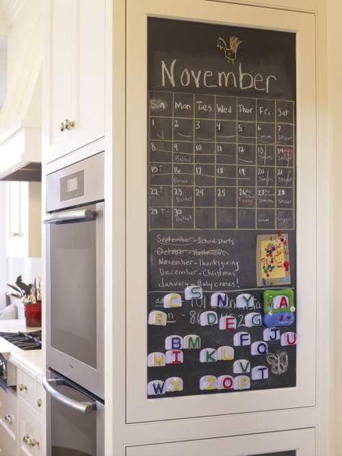 Kitchen Chalkboard Traditional kitchen Gast Architects
