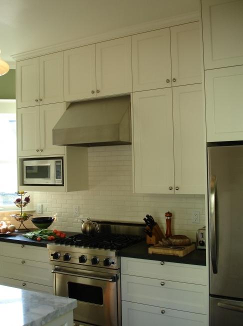 Cream kitchen cabinets design ideas for Shaker cream kitchen ideas