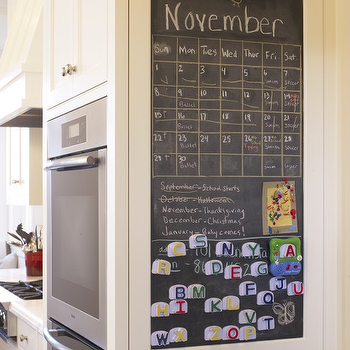Kitchen Chalkboard, Traditional, kitchen, Gast Architects
