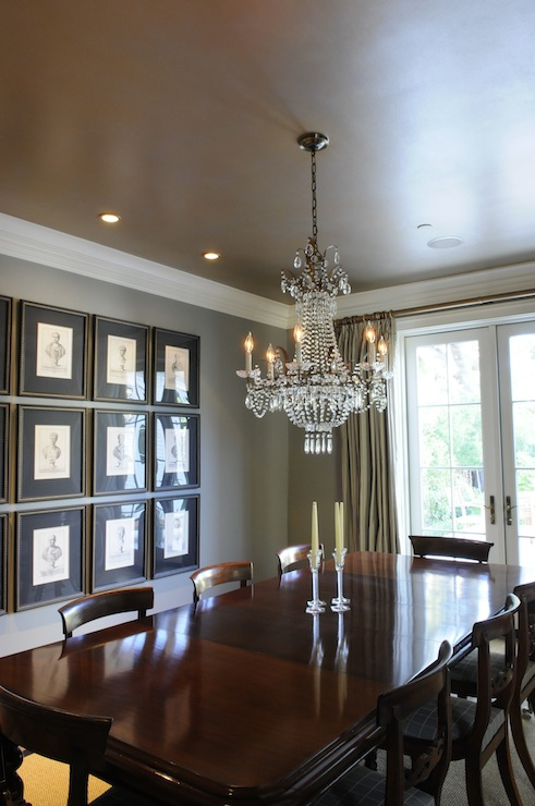 Traditional Dining Room Modern Masters Olympic Gold
