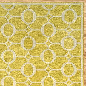 Arabesque Indoor Outdoor Rug, Yellow   View All Rugs   Cost Plus World  Market