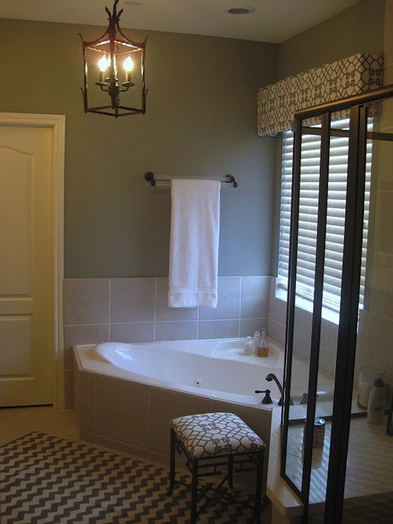 Bathroom Cornice Box Transitional Bathroom Odi Et Amo