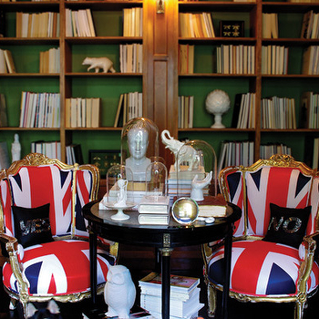 Union Jack Chairs, Eclectic, den/library/office, Graham Moss