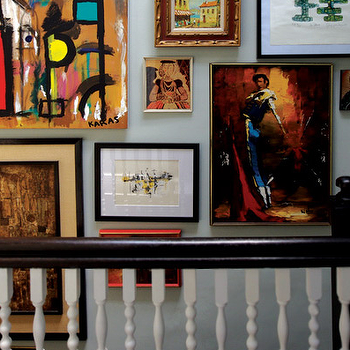 Staircase Art Gallery, Eclectic, entrance/foyer, Graham Moss