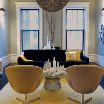 Yellow Moorish Tile Rug Design Ideas