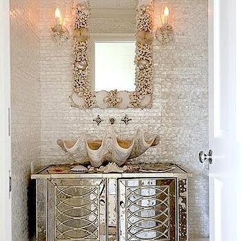 Seashell Tile Design Ideas