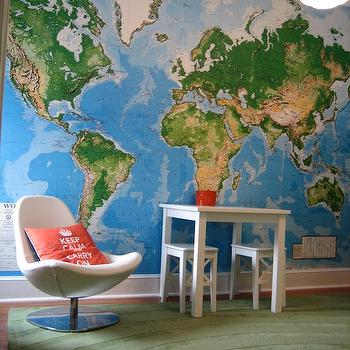Toys R Us World Map Wall Mural Contemporary Boys Room Grace - Map to toys r us