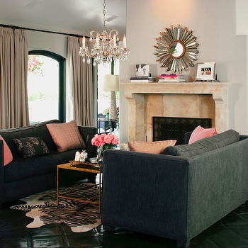 Charcoal Gray Sofa Design Ideas