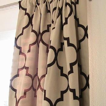 Pair of Decorative Designer Rod Top Drapery Panels102 by nenavon
