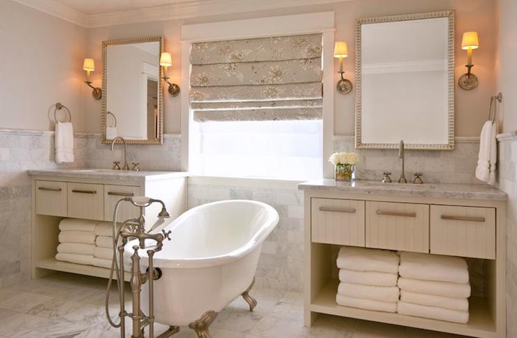 Clawfoot Bathtub - Transitional - bathroom - DeCesare Design Group