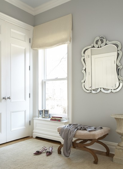 Stonington gray traditional closet benjamin moore - Benjamin moore stonington gray living room ...