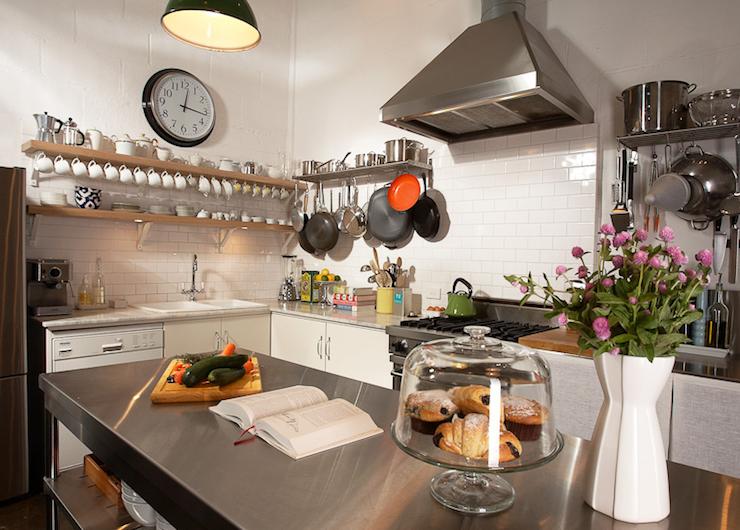 Stainless Steel Kitchen Island Vintage Kitchen Diane