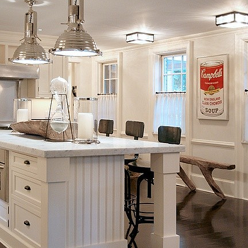 Beadboard Cabinets, Contemporary, kitchen, Thom Filicia