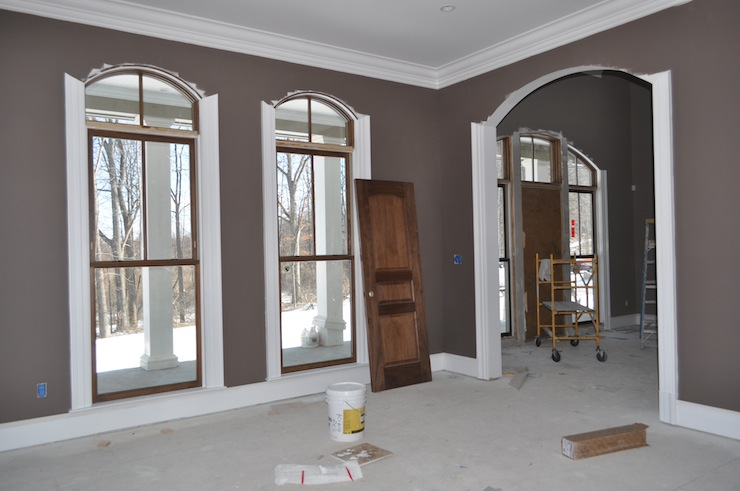 Brown Gray Paint