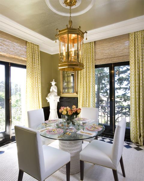 Art deco dining room