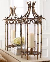 the horchow collection decor antiques candleholders decorative accents - Decorative Accents