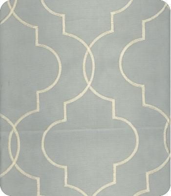 Trellis Fabric blue ivory trellis pattern fabric
